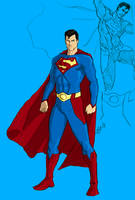 Random Superman Redesign by kyomusha