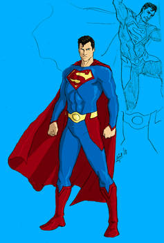 Random Superman Redesign