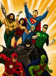 DCEU: Original Seven Justice League