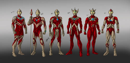 Ultra Brothers Concept by kyomusha