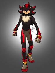 Shadow The Hedgehog by kyomusha