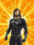 DCEU Concept: The Black Suit [Son of Darkseid]