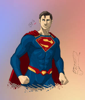 Arrowverse: Superman (Tyler Hoechlin) Redesign