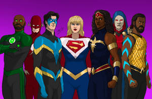DC Concept: Justice League of Tomorrow