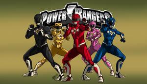 Power Rangers Apocalypse [Ranger Sentries MMPR S4]