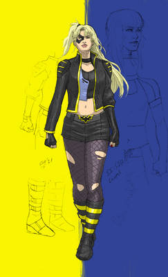 Secret Identity: Laurel//Black Canary