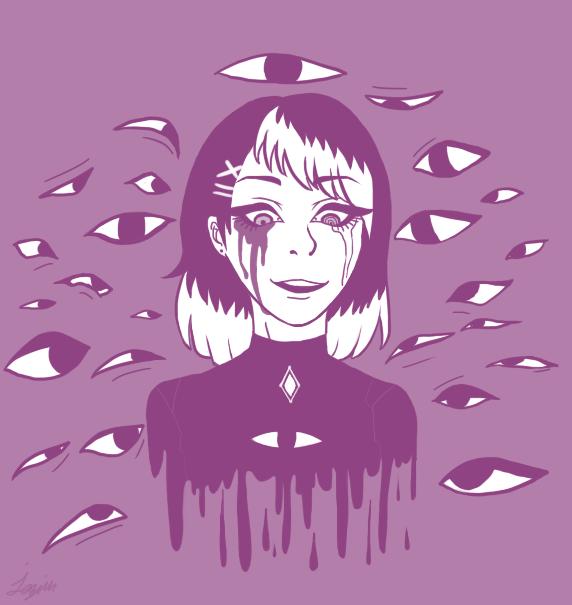 Eyes eyes eyes by Sky-miarrow8