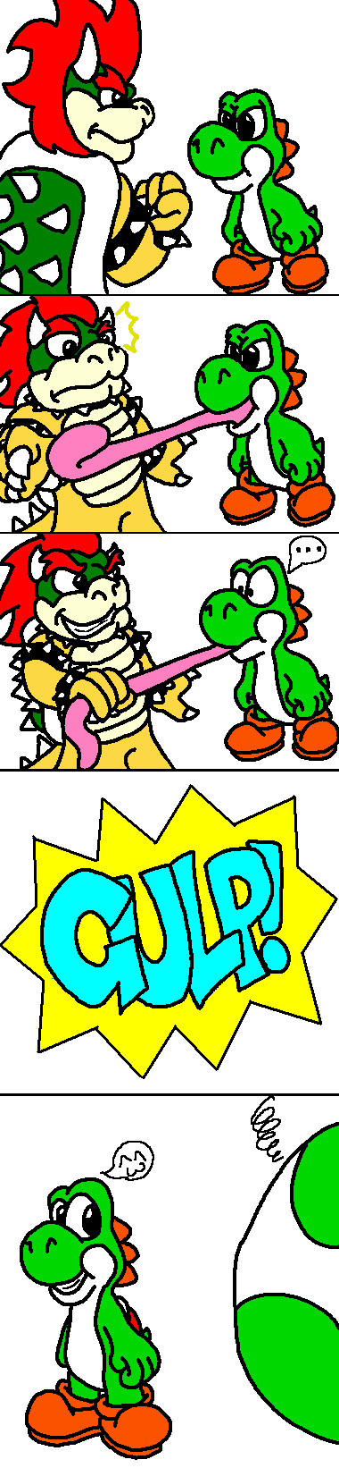 ::.It's love.:: by Bowser2Queen on DeviantArt |Bowser Loves Yoshi