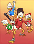 Scrooge and the Boys