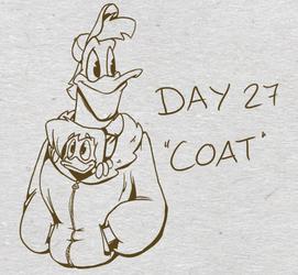 Inktober Day 27: Coat