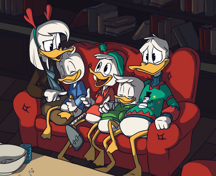 Ducktales Secret Santa: Family Christmas