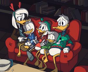 Ducktales Secret Santa: Family Christmas