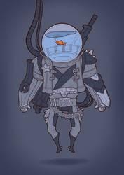 Space Fish of Justice by Nekogoroshi-Sama
