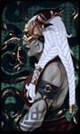 Qunari tarot card
