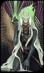 Qunari tarot card 2