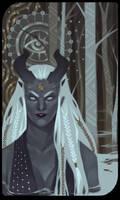 Qunari tarot card 3