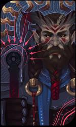 Qunari tarot card 5