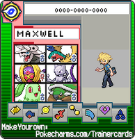 maxwell my youngest trainer