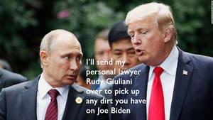 Asking Putin for help