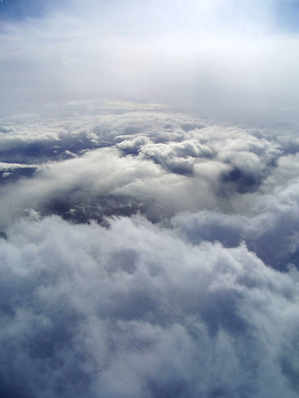 Between the Clouds by shadowed-light-waves