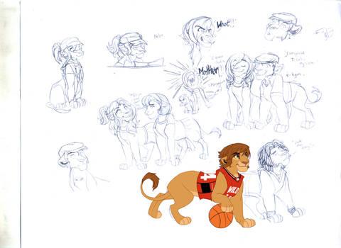 HSMcast lions