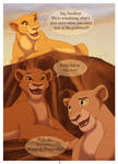 Pg1 Lionesses Conversation by Emo-Hellion
