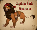 Captain Jack Sparrow Lion
