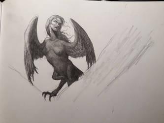 Harpy woman