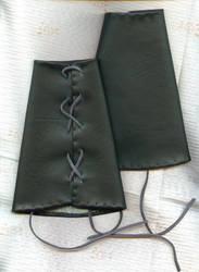 Medieval Arm Bracers by SarawenArt