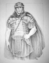Roman Legionary by SarawenArt