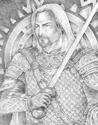 Knight of Rohan by SarawenArt