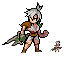 League of Legends: Riven by Eviscus