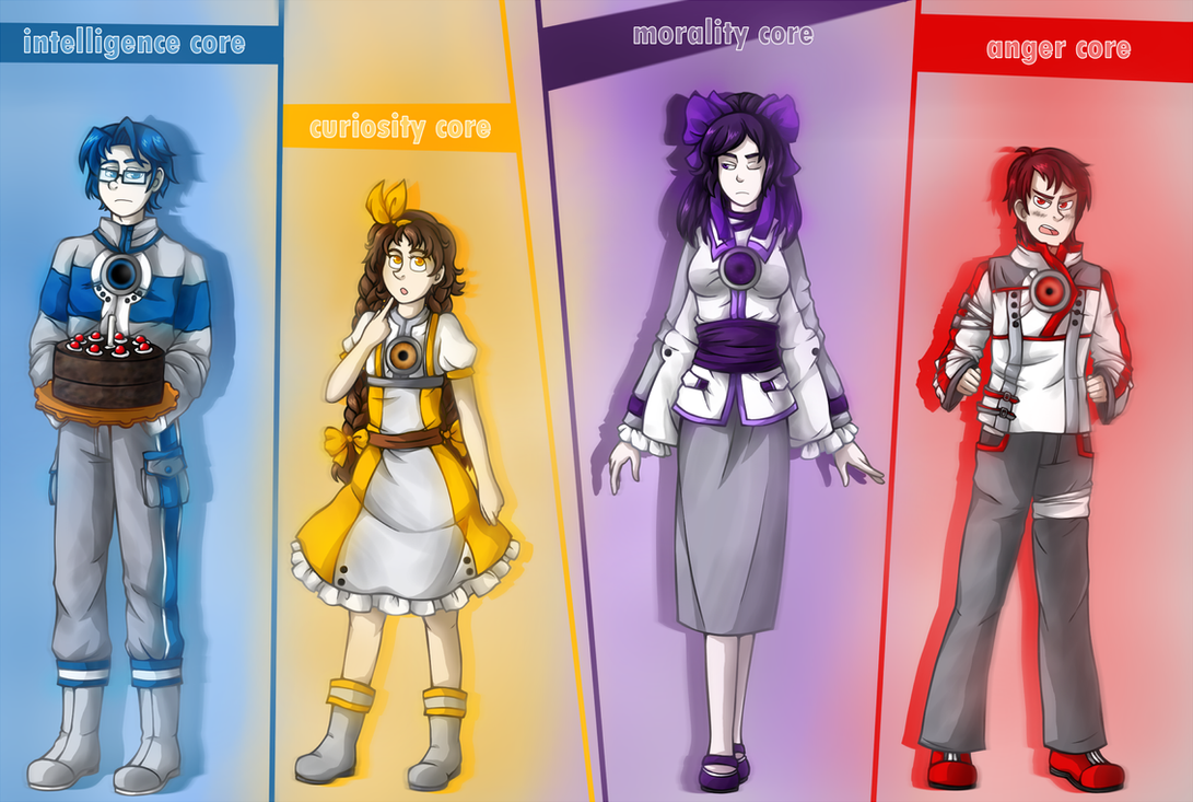 Cores from Portal 1 by R1nRina on DeviantArt