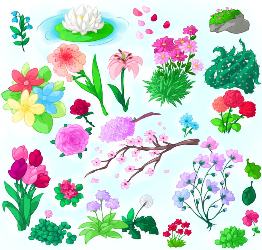 flowerdump by R1nRina