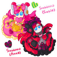 Susie and Anna by R1nRina