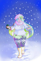 Cold lady