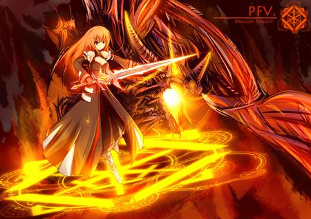 Arinao Fennikkuso Fire Dragon by llNightingGalell on ...