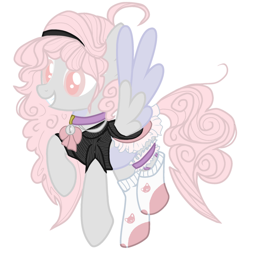 Mlp Base By Chaostrical Dammb Curly Cloud Oc By