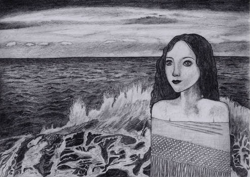 Fille de la mer