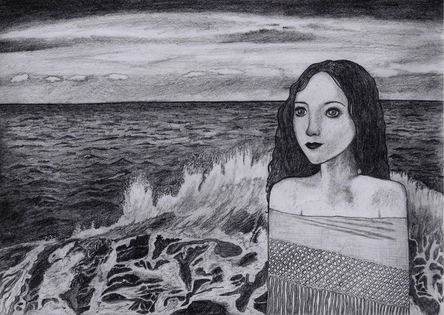 Fille de la mer by CrayonFairy