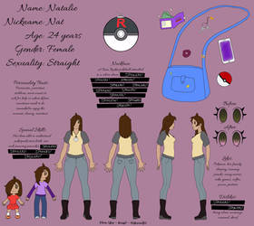 Natalie Reference Sheet (DBD) - Spoilers Hidden