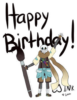 (GIFT) Birthday Wishes from the Doodlesphere!