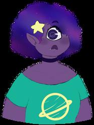 [Art Fight] Purple Space Cyclops