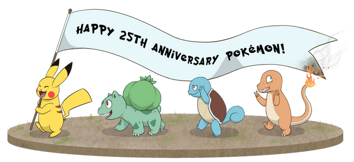 Happy Pokemon Day! + Speedpaint