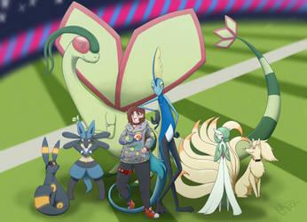 Galar Champion Team