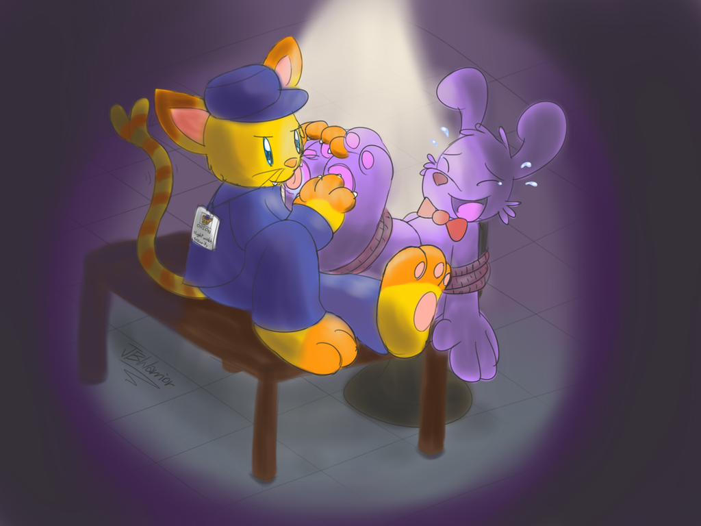 The Night Watch Job - Orion vs Bonnie (FNaF) by JBWarrior