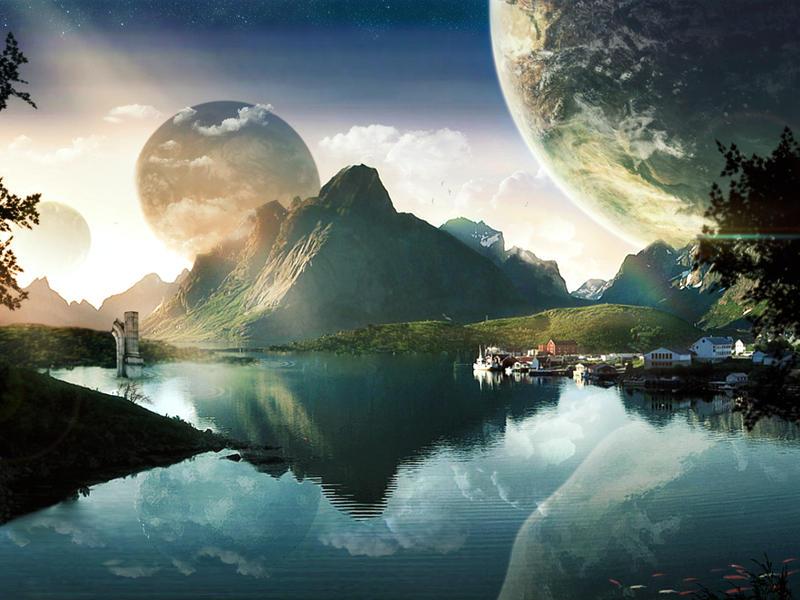 Vacaciones en el planeta Planeton by acg3fly