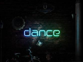 Muro Glow y dance by acg3fly