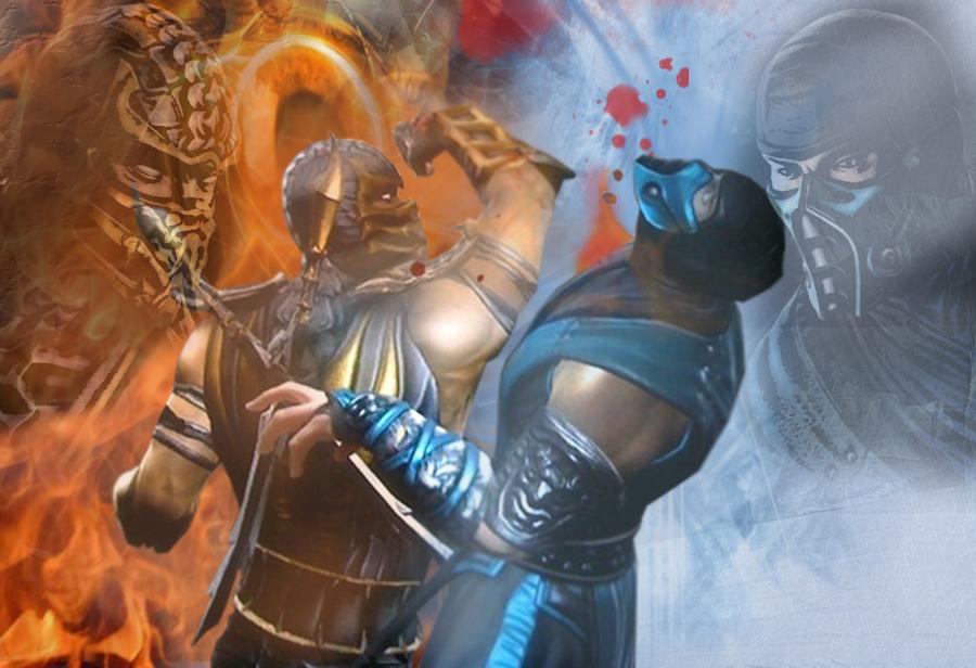 Scorpion VS Sub-Zero - MK 9 by Khaluow on DeviantArt