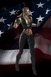 Sonya - Mortal Kombat 9
